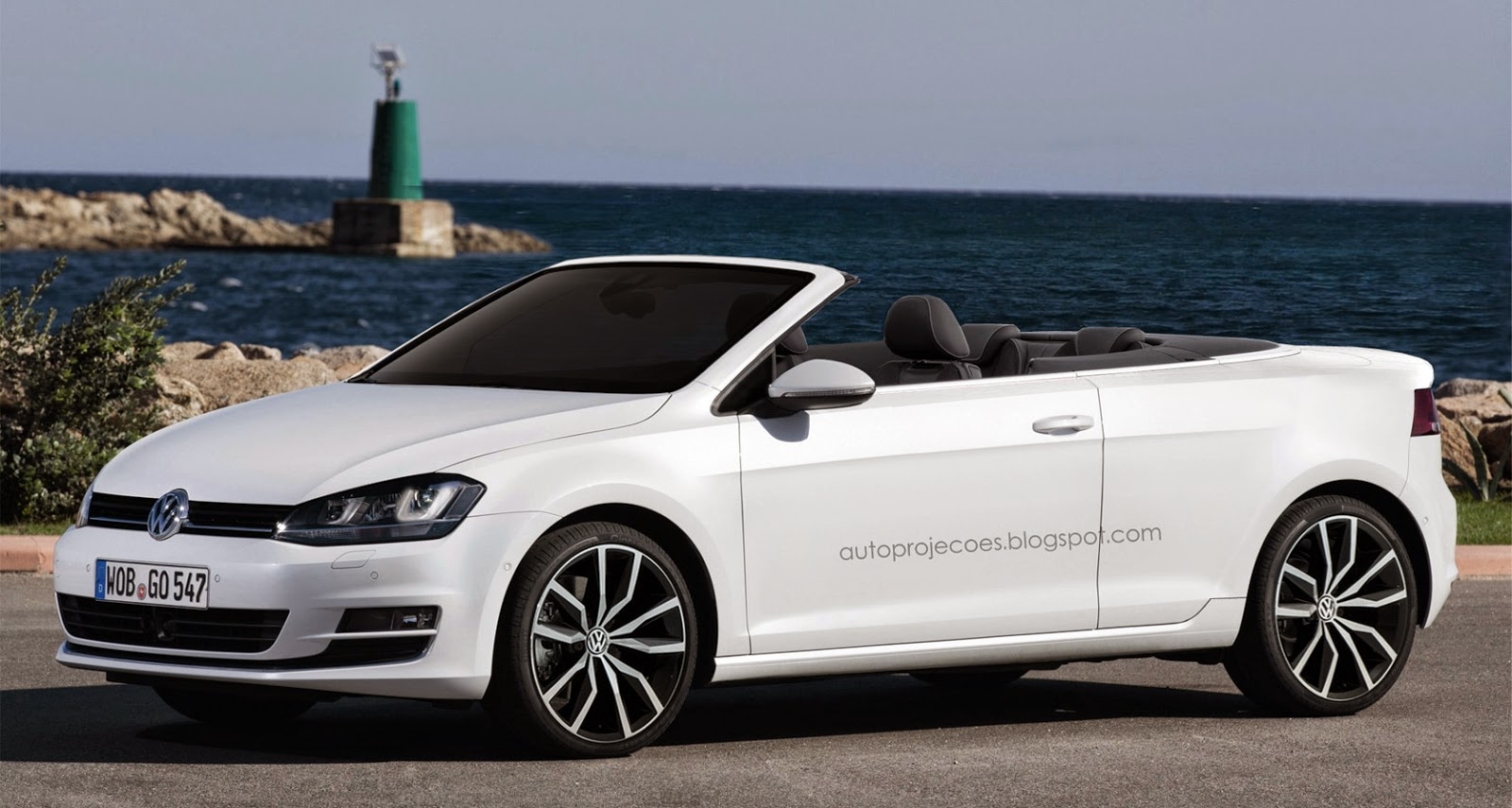 proje o volkswagen golf cabrio 2015 auto proje es. Black Bedroom Furniture Sets. Home Design Ideas