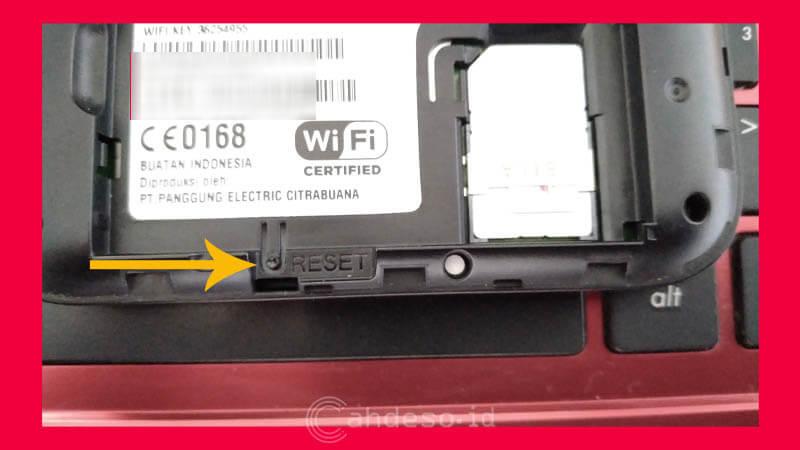 Reset MiFi Huawei