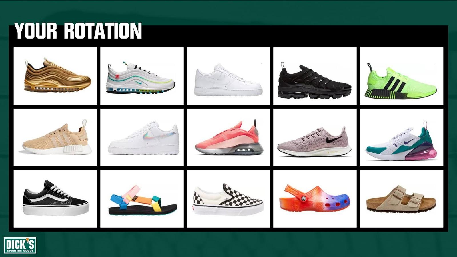 DICK'S Sporting Goods Footwear