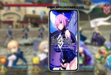تحميل لعبة الانمي فيت جراند اوردر Fate Grand Order English Apk مجاناً