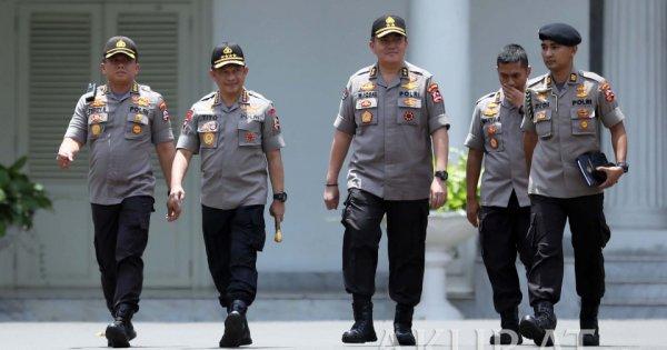 Berikut Para Jenderal Bintang Tiga yang Berpeluang Jadi Kapolri Gantikan Tito