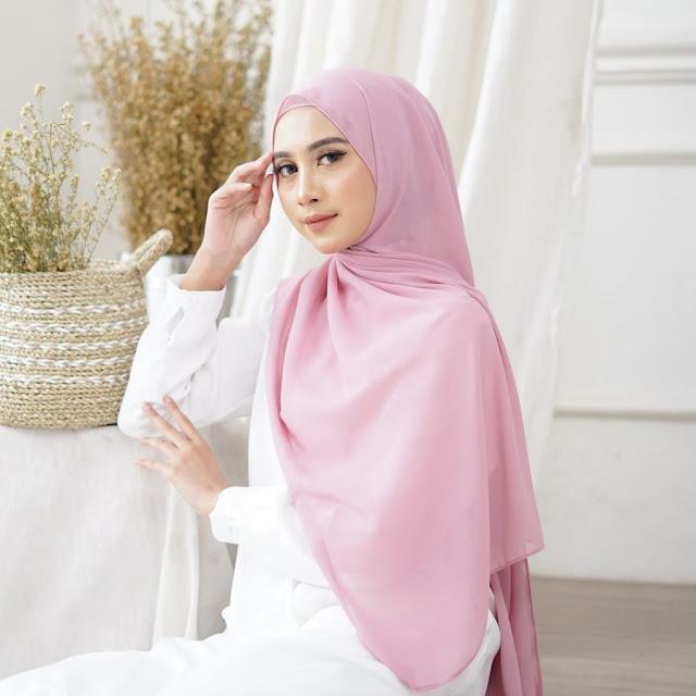 Jilbab Pashmina Instan