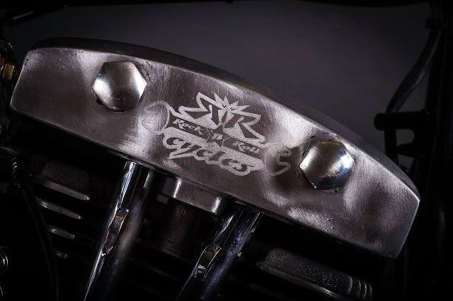 Harley Davidson Shovelhead By Rock n Roll Cycles Hell Kustom