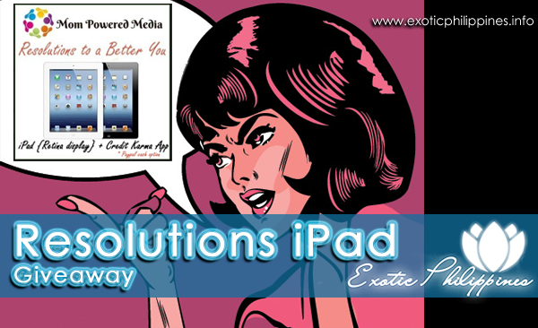 Resolutions iPad Giveaway