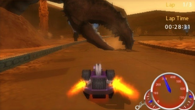 game hot wheels PSP