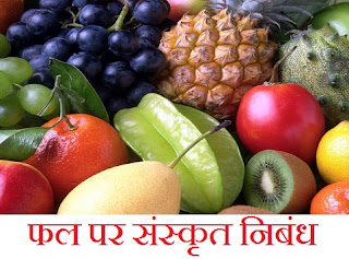 Essay on Fruits in Sanskrit