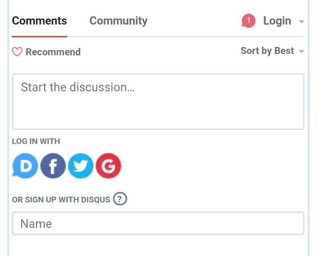 Quick Guide: How To Comment – Disqus
