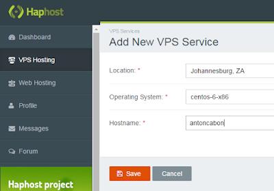 Approved vps free form haphost.com