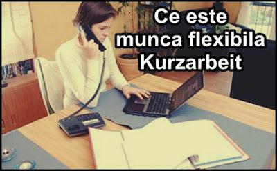 definitie ce este Kurzarbeit modelul de munca redusa si flexibila