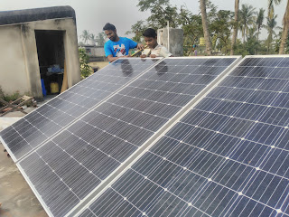Rooftop Solar stucture Odisha