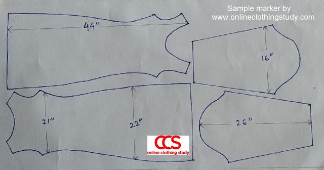 pattern marker for plain kurti