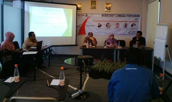 kpid gelar workshop penyiaran di pilkada serentak