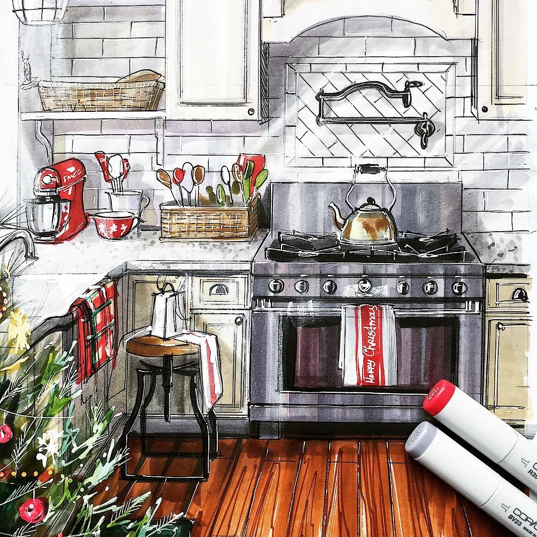 11-Kitchen-Interior-Design-Drawings-Focused-on-Bedrooms-www-designstack-co