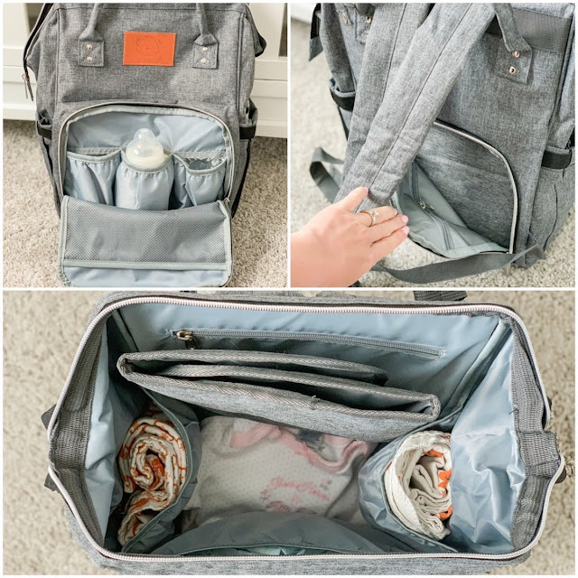 diaper bag features