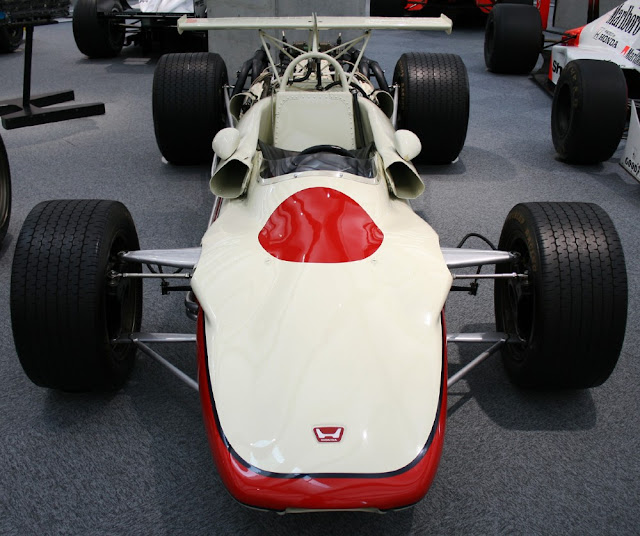 Honda RA302 1960s Japanese F1 car
