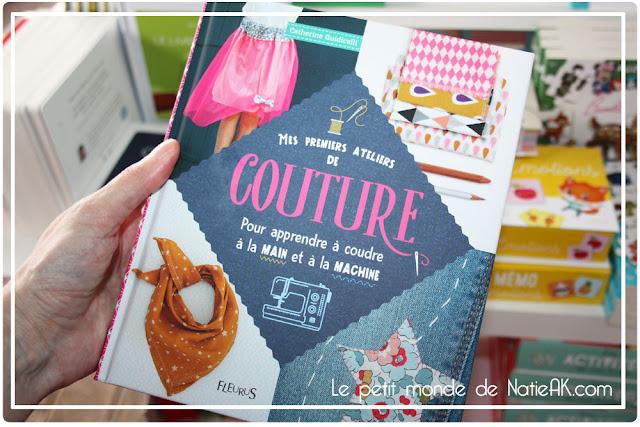 livre  Couture débutant  Fleurus