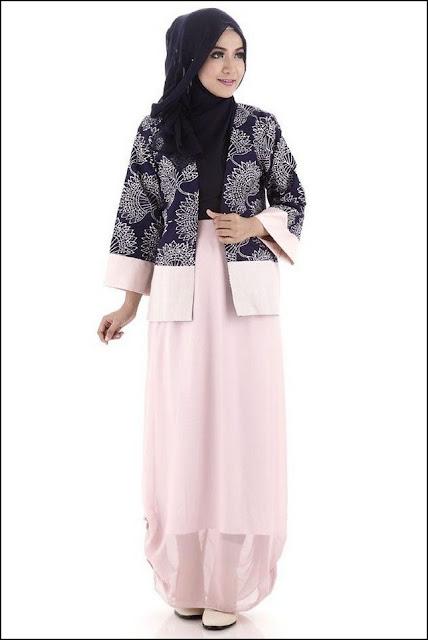 Contoh Model Baju Batik Muslim
