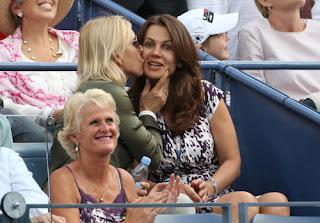 Martina Navralitova Kissing Her Wife Julia Lemigova