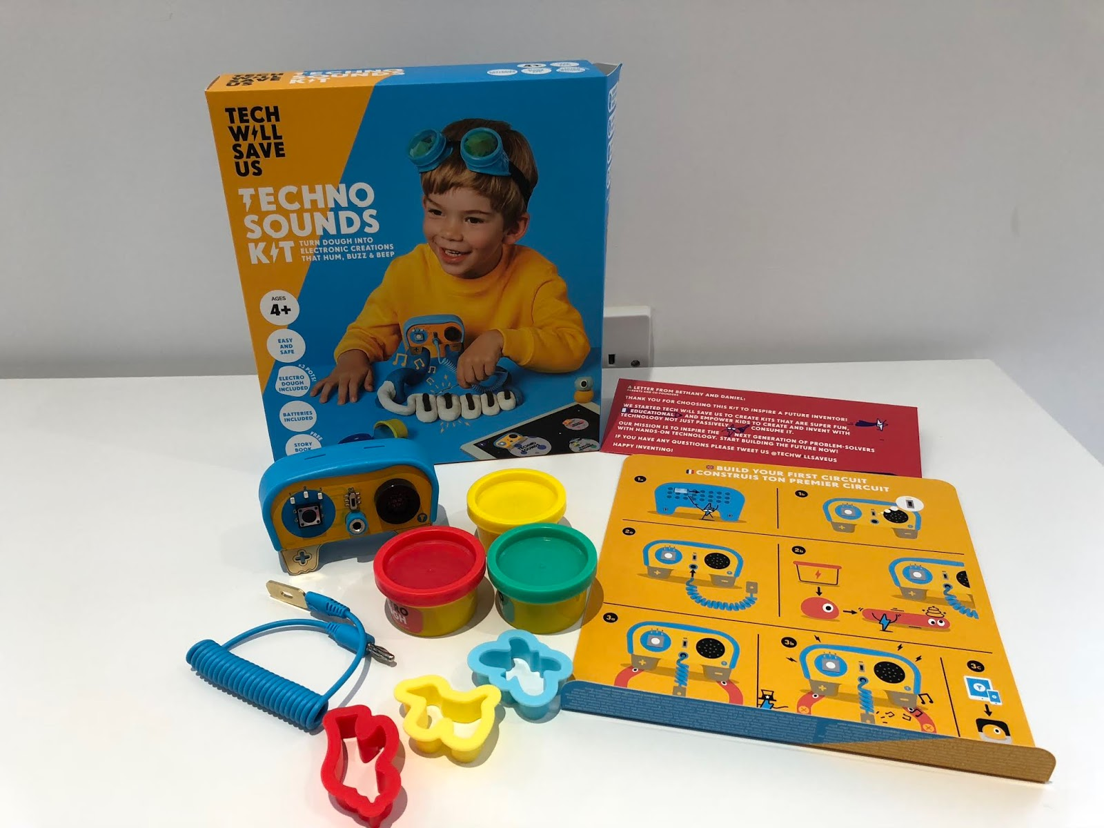 Dough Universe Review Movement Sound And Light Kits From Tech Projects Project Ideas Play Parallel Circuit Techno Sounds Kit