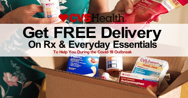 FREE CVS Delivery on Rx & Essential Items