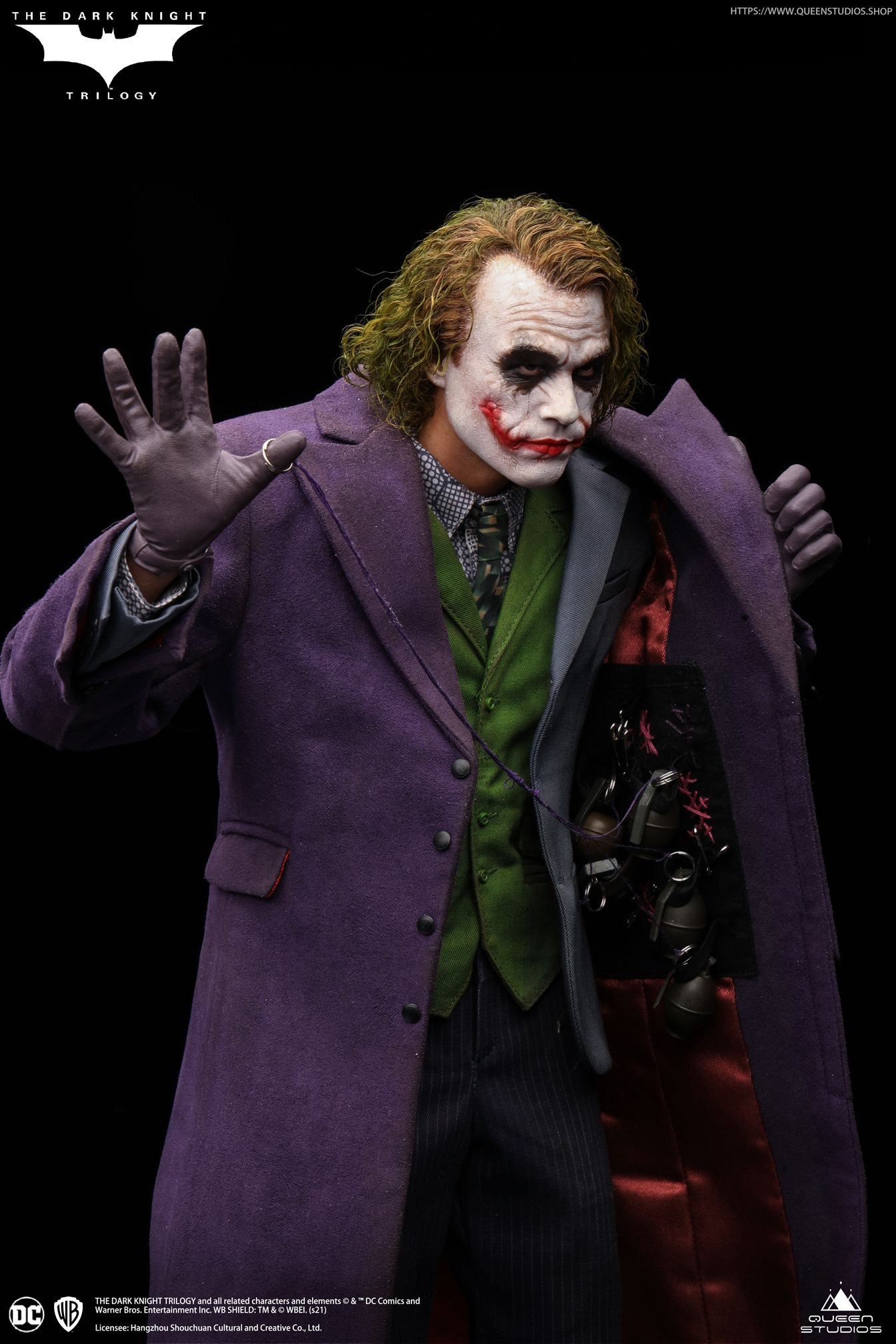 The Dark Knight Heath Ledger Joker