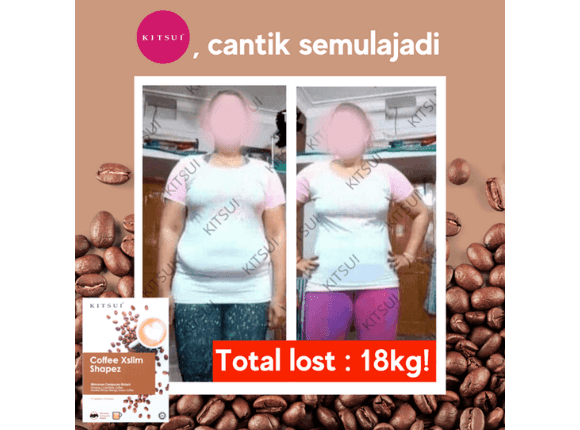 Testimoni Pengguna  Kitsui Coffee Xslim Shapez