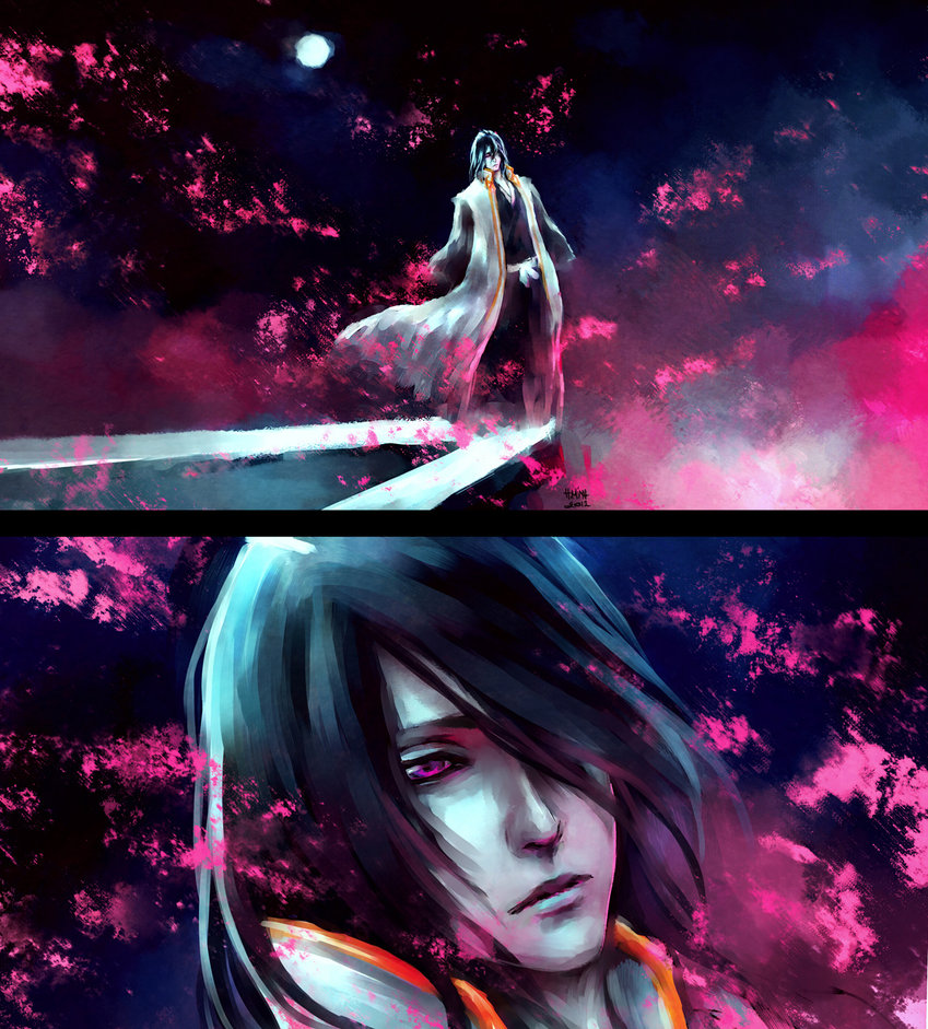 Byakuya kuchiki 7 fan arts and wallpapers your daily - Fanart anime wallpaper ...