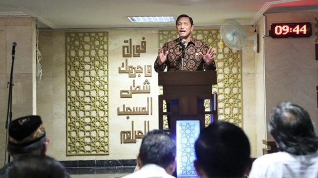 Luhut: Ramadan Jangan Menjelekkan Orang, Nanti Puasamu Batal