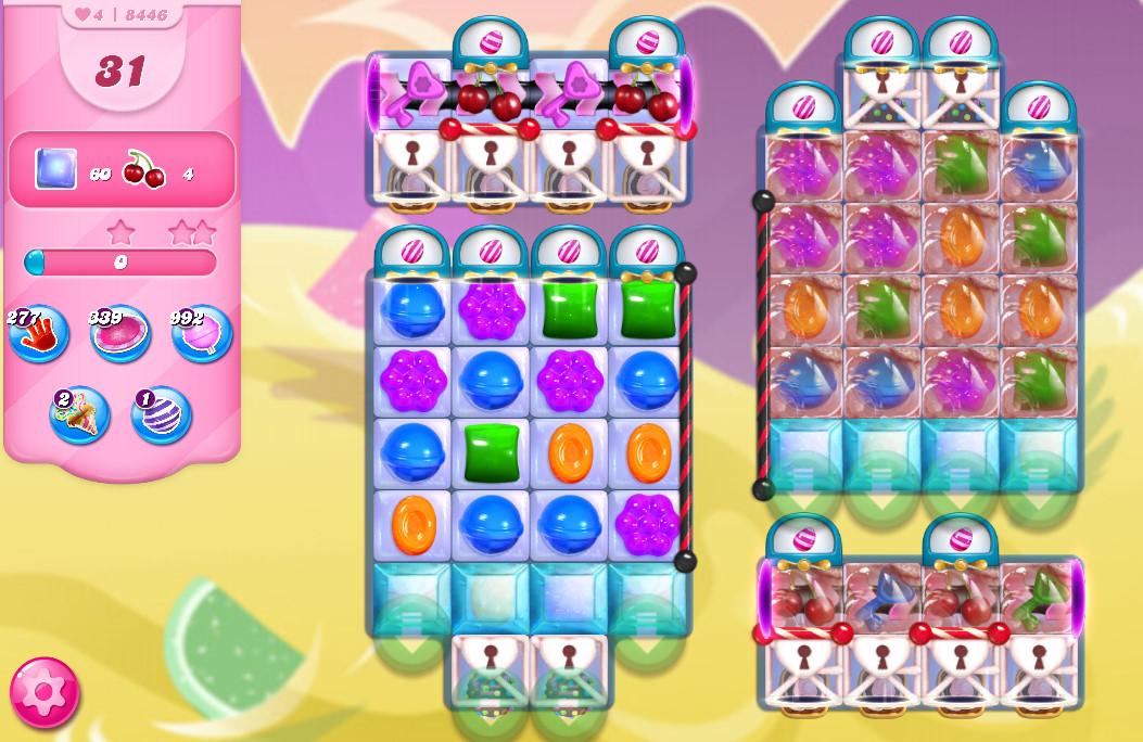 Candy Crush Saga level 8446