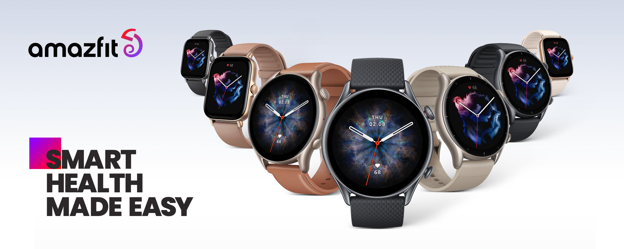 Amazfit GTR 3 and GTS 3 Series Smartwatches Launch