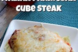 Cube Steak Recipes – Italian Parmesan Crusted Steak