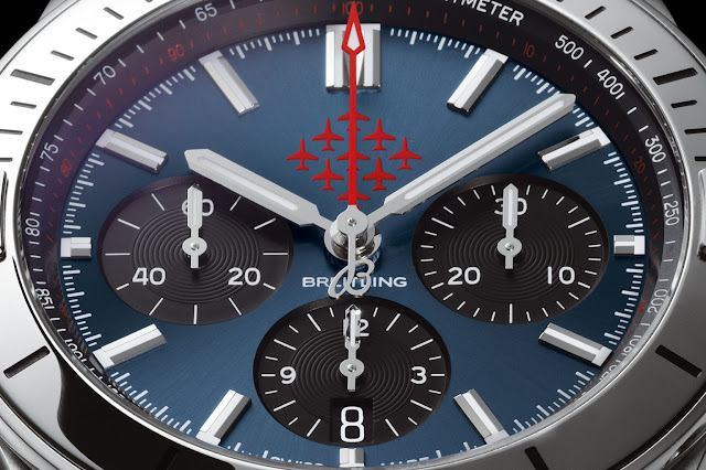 Breitling launches the Breitling Chronomat Red Arrows limited edition Watch Replica