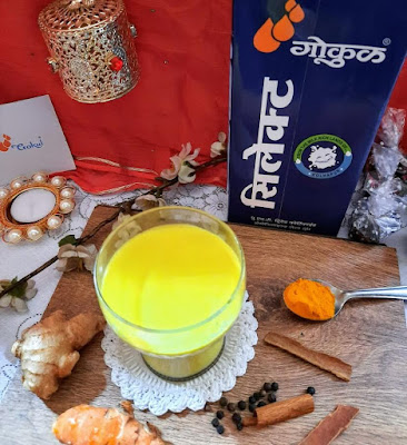 Haldi Doodh or Turmeric Milk Latte Recipe