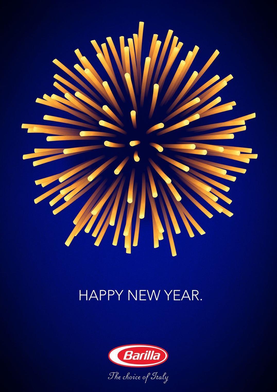 Barilla: Happy new year!