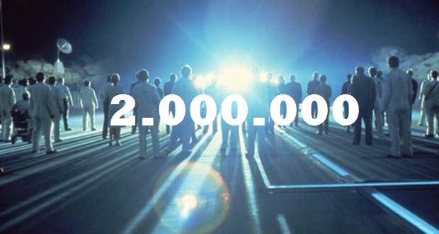 Dos millones de visitantes en el Espacio Woody/Jagger