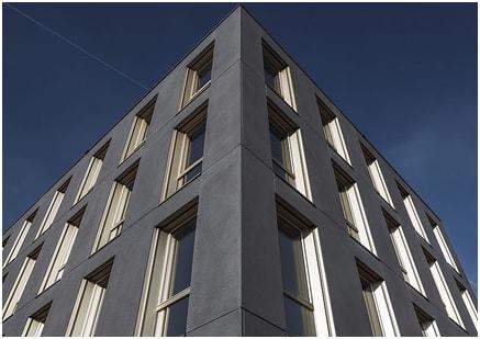 Facades made of textile concrete