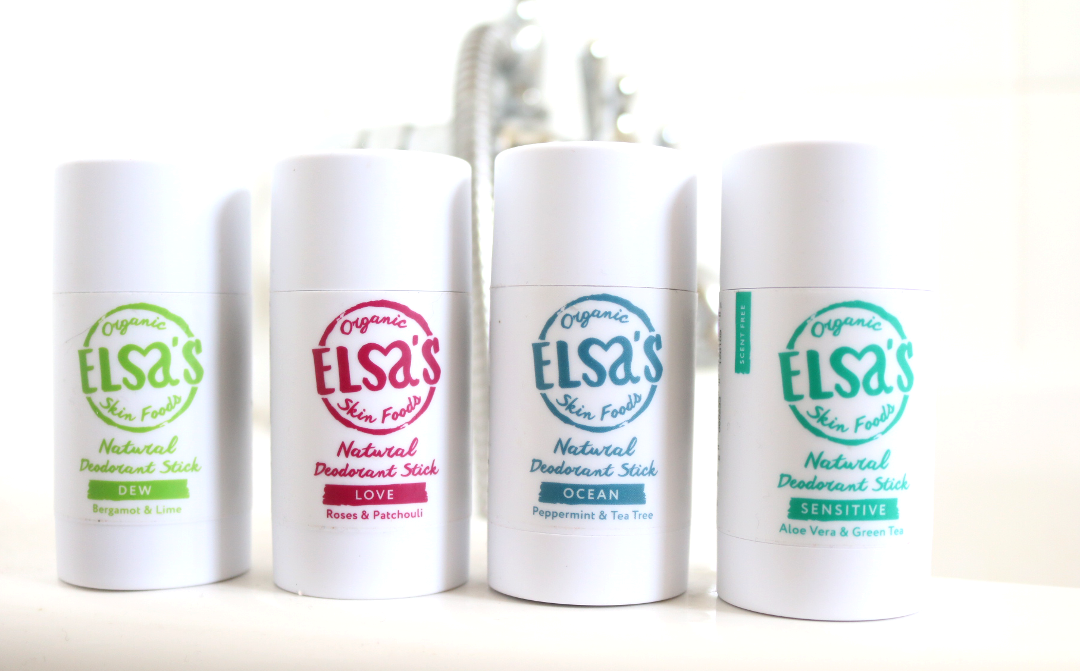 Elsa's Organic Skinfoods Natural Deodorants review