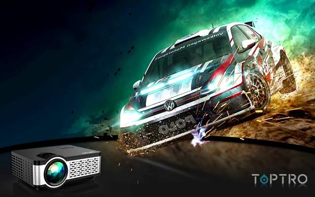 Toptro TR20: proyector de 5.000 lúmenes, con soporte Full HD y altavoces estéreo integrados