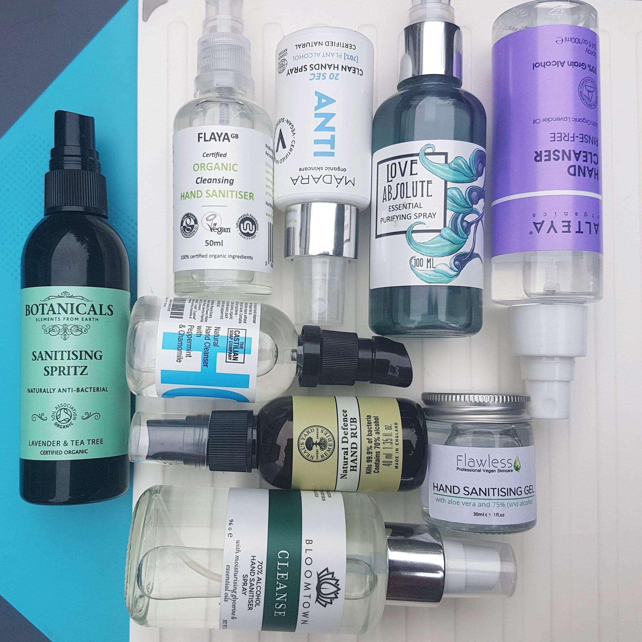Natural Hand Sanitizer Guide - Best Eco Sanitizers UK