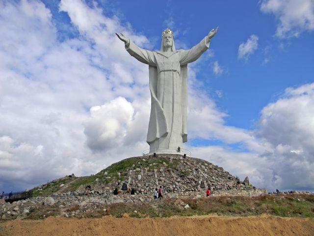 turyści, Chrystus, król, Świebodzin