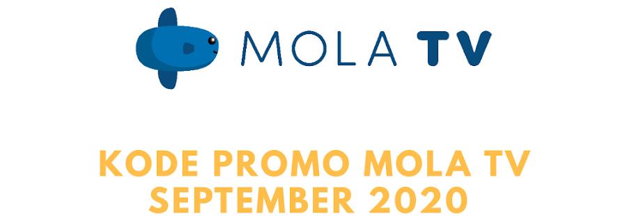 Kode Promo Mola Tv September 2020, Dapatkan Akses Berlangganan Paket Lebih Murah