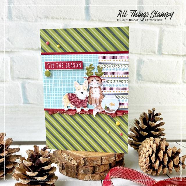 Sweet Stockings Stampin Up Christmas Card UK demonstrator
