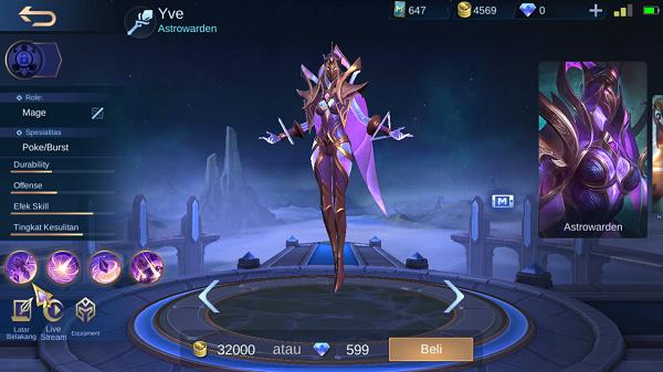 build item yve mobile legends