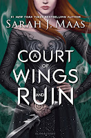 A Court of Wings and Ruin by Sarah J. Maas book cover and review