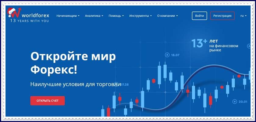 Мошеннический сайт wforex.com – Отзывы? Компания World Forex мошенники! Информация