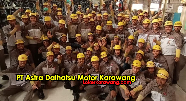 Lowongan Kerja PT Astra Daihatsu Motor Karawang