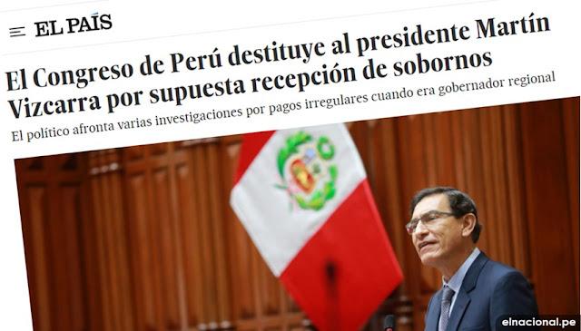 EL PAIS vacancia Martín Vizcarra