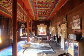 interior rumah gadang istano rajo alam