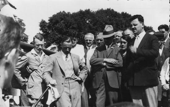Erster Segelflug in Bensheim 1932, Nachlass Joseph Stoll
