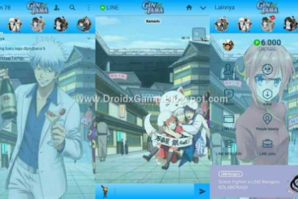 Download Tema Line Anime Gintama
